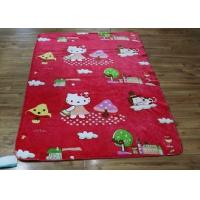 Buy cheap Lovely Cute Animal Personalized Fleece Blankets For Home / Airplane from wholesalers
