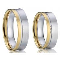 Buy cheap Best Selling 925 Sterling Silver Class Wedding Rings Wedding Bands for Women and Men from wholesalers