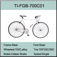 Buy cheap TI-FGB-700C01 700C Steel Fixed Gear Bike from wholesalers