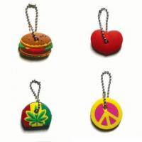 Buy cheap Custom PVC Keychains 3D Soft Flower Shape PVC Keychain from wholesalers