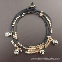 Buy cheap Multilayer Cute Evil Eye Beads Bracelet Protection Jewelry from wholesalers