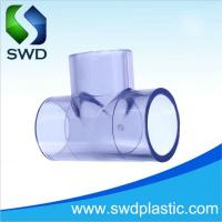 Buy cheap PVC transparent Equal Tee from wholesalers