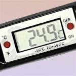 Buy cheap Food thermometer withMax min Recording from wholesalers