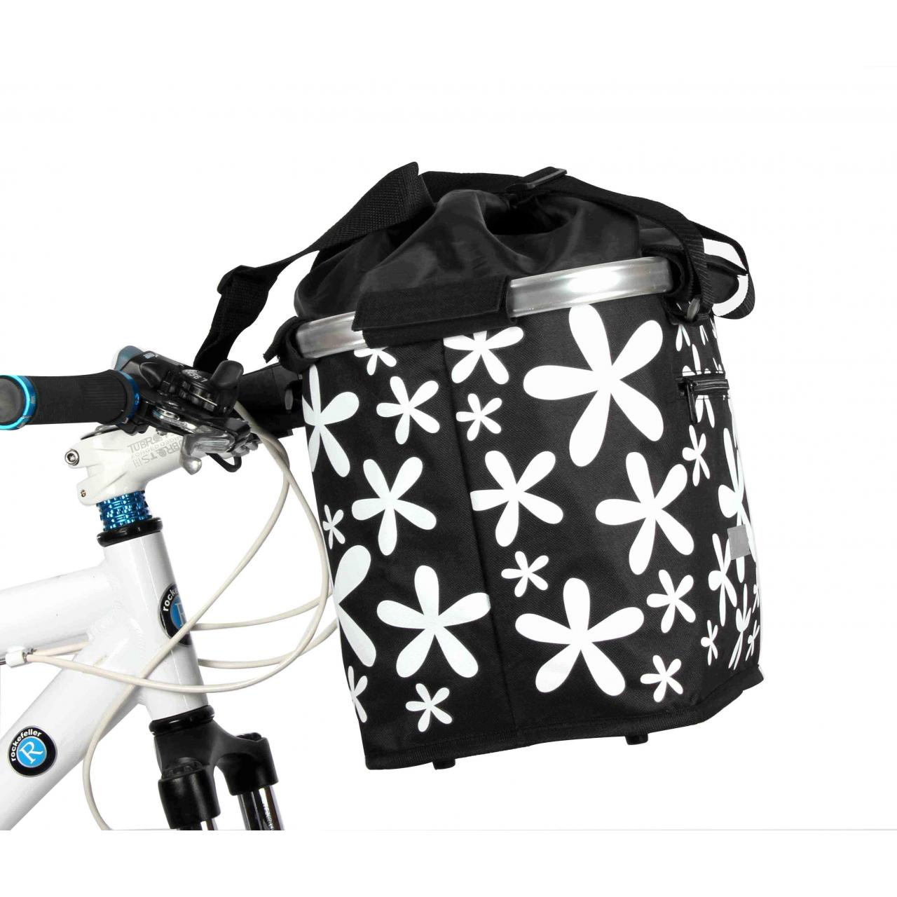 Buy cheap shopper bag bicycle fabric basket bag from wholesalers