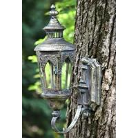 China OLD STYLE WALL HANGING LANTERN PARIS-1968 FROSTED SILVER COLOR FINISH ZR630743-FS on sale