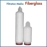 Extra-fine Glass Fibers High Flow Rate GF Filter Cartridges for Removing Particle