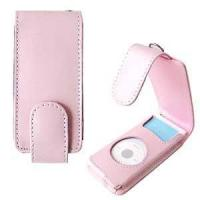 Buy cheap Apple iPod Nano (1st Gen) Pink Leather Carrying Case/Pouch from wholesalers
