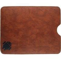 Buy cheap Brown Leather Protective Sleeve w/Android Robot Print for BlackBerry PlayBook from wholesalers