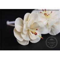 Buy cheap Aromatherapy Diffuser Sola Flowers 8cm Handmade Material Flowers from wholesalers