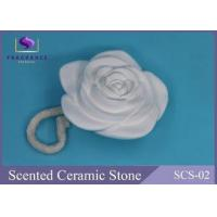 Buy cheap Vanilla Scent Aroma Diffuser Scented Stones Flower Shape Aroma Plastic product