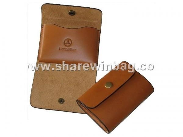 Quality genuine leather card holder for sale