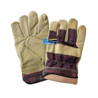 Buy cheap Warm Pig Leather Palm Work Gloves Driver Gloves(BGPL102W) from wholesalers