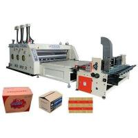 Buy cheap Automatic Cardboard Feeding Printer Slotter from wholesalers