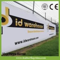 Buy cheap Fence Banner Custom Vinyl Banner Fence Banner Mesh Banner from wholesalers