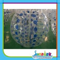 Buy cheap Inflatable Football Shape Bubble Ball Suit from wholesalers