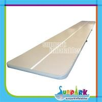 Buy cheap 10m Grey Inflatable Gym Tumble Track from wholesalers