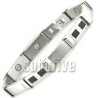 Buy cheap Magnetic Bracelet with Carbon Fiber Inlay 8 5/8 in (Standard) product