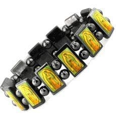Buy cheap Religious Hematite Magnetic Bracelet from wholesalers