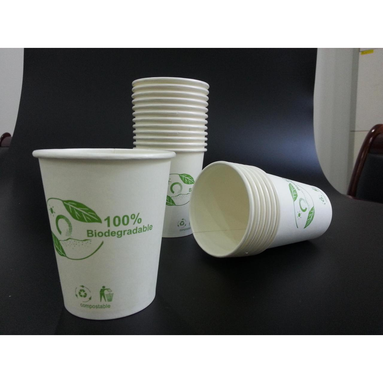 Buy cheap 100% 100% biodegradable coated paper water cup from wholesalers