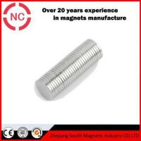 Large Round Flexible Office Rare Earth Magnets With High Power
