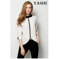 Buy cheap New Design Lady Formal Chiffon Blouse for Office OEM from wholesalers