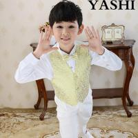 Buy cheap Boy Wedding Party Holioday Church Dress Suit Waistcoat from wholesalers