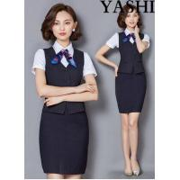 Buy cheap Uniform The Latest Summer Hotel Front Desk, Stewardess Uniforms from wholesalers