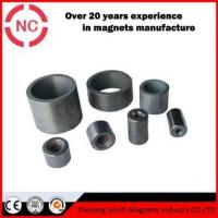 Buy cheap Car Speaker Cylindrical Barium Ferrite Magnets from wholesalers