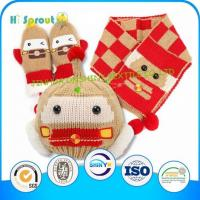 Buy cheap Baby Knitted Hat Gloves And Scarf Set from wholesalers