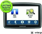 Buy cheap TomTom ONE XXL 550-T Lifetime Traffic Bundle with IQ/Lane Guidance from wholesalers