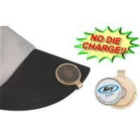 Buy cheap Solid Brass Hat Clip with Custom Removable Magnetic Ball Marker - HC0900E from wholesalers