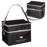 Buy cheap Two-Tier Lunch Bag With Padded Foil Lined Insulation & Adjustable Strap - Personalization Available from wholesalers
