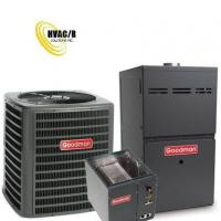Buy cheap 1.5 Ton Goodman 14 SEER R410A 80% AFUE 60,000 BTU Horizontal Gas Furnace Split System from wholesalers