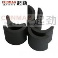 Buy cheap high quality strong arc segment ferrite magnets from wholesalers