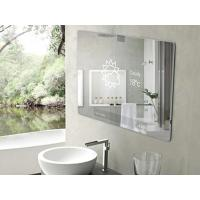Buy cheap and hotel use high quality make up two way side mirror decorative glass from wholesalers