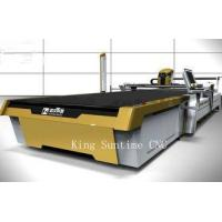 Buy cheap Medical Industry Electric Fabric Cutter Machine , Golden Color Fabric Cutting Machines For Quilting from wholesalers
