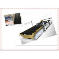 Buy cheap Shoe - Pad Cutter Ultrasonic Fabric Cutting Machine , Textile Sample Cutting Machine 75mm Thickness from wholesalers