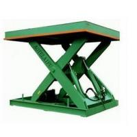Buy cheap Warehouse Used Hydraulic Scissor Goods Lifting Platform floor lift from wholesalers