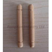 Buy cheap RX20130416-2Woodendowelwithstraightline6mm x 50mm from wholesalers