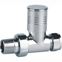 Buy cheap Brass Round Staight Radiator Valve from wholesalers