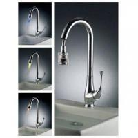 Buy cheap Pull out LED Kitchen faucet from wholesalers