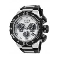 Buy cheap Men's Watches Men's Reserve Chronograph Black Silicone Silver-Tone Dial SS from wholesalers