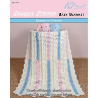 Buy cheap CROCHET PATTERNS SNUGGLY STRIPES Baby Blanket from wholesalers