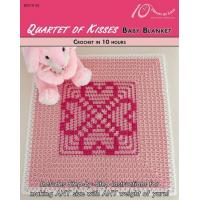 Buy cheap CROCHET PATTERNS QUARTET OF KISSES Baby Blanket from wholesalers