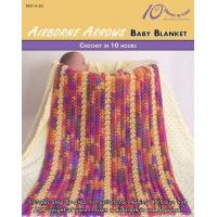 Buy cheap CROCHET PATTERNS AIRBORNE ARROWS Baby Blanket from wholesalers