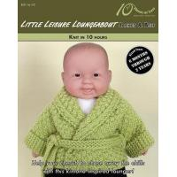 Buy cheap KNITTING PATTERNS LITTLE LEISURE LOUNGEABOUT Baby Jacket & Belt from wholesalers