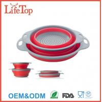 Buy cheap Space Saving 2 Collapsible Colanders (Strainers) Set from wholesalers