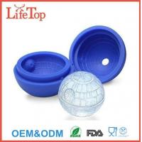 China Food Grade Silicone Death Star Ice Cube Molds on sale