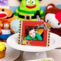 Buy cheap CLEARANCE Cheery Sock Monkey Picture/Place Card Frames from wholesalers