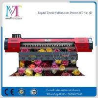 Buy cheap MTuTech Digital Cotton DX7 Head textile printing table from wholesalers